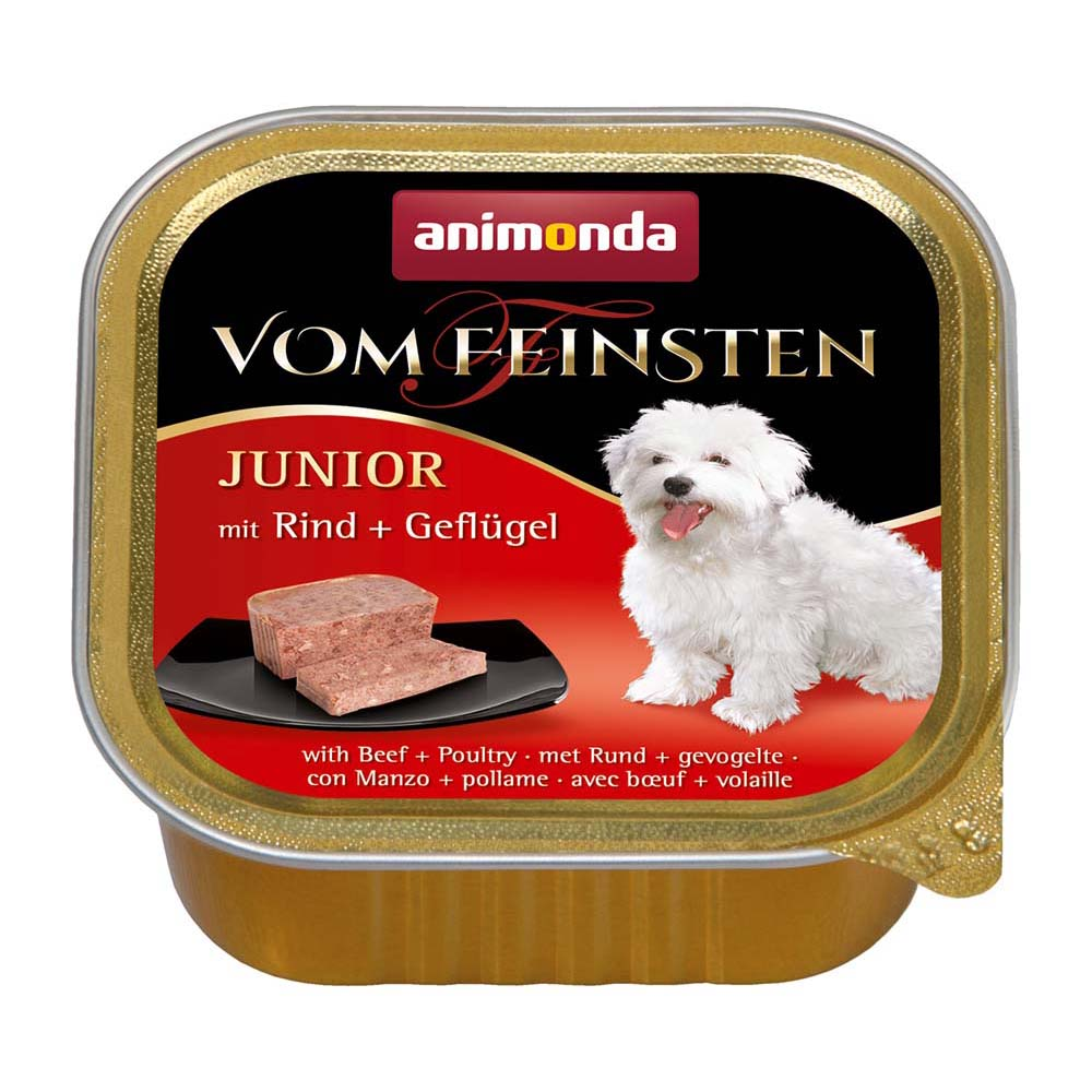 フォムファインステン 子犬用 牛・豚・鳥(82620)