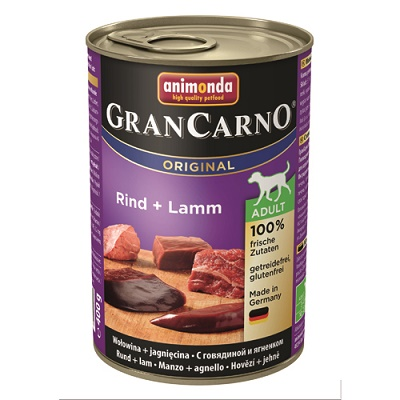 グランカルノ ウェット アダルト 牛肉・子羊肉(82733)