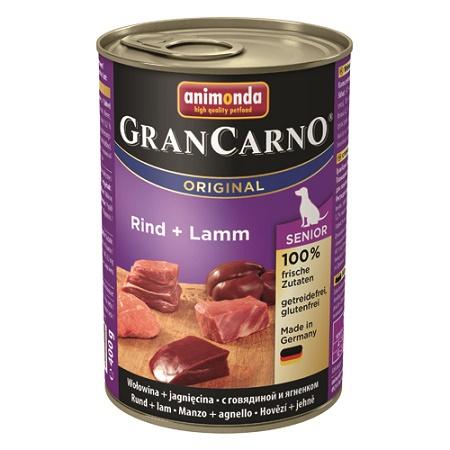 グランカルノ ウェット シニア 牛肉・子羊肉(82737)