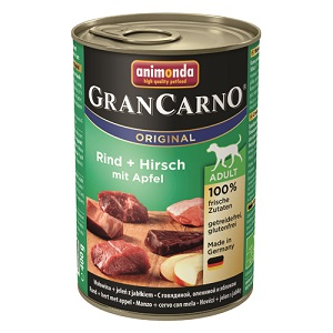 グランカルノ ウェット アダルト 牛肉・鹿肉・リンゴ(82753)