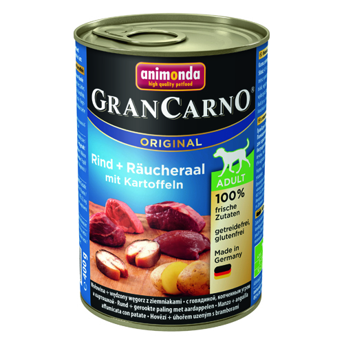 グランカルノ ウェット アダルト 牛肉・アナゴ・野菜(82755)